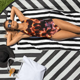 Glowing Embers One-Piece Swimsuit - Aly Pictured It