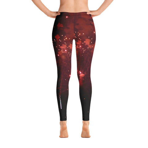 Fireworks Leggings - Aly Pictured It