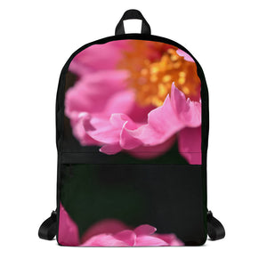 Pink Petals Laptop Backpack - Aly Pictured It