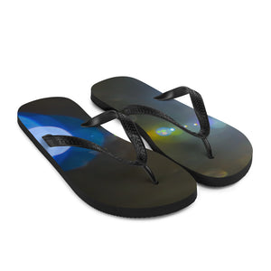 Lens Flare Flip-Flops - Aly Pictured It
