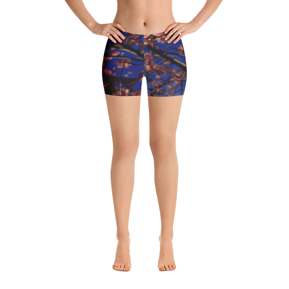 Spring Blossoms Shorts - Aly Pictured It