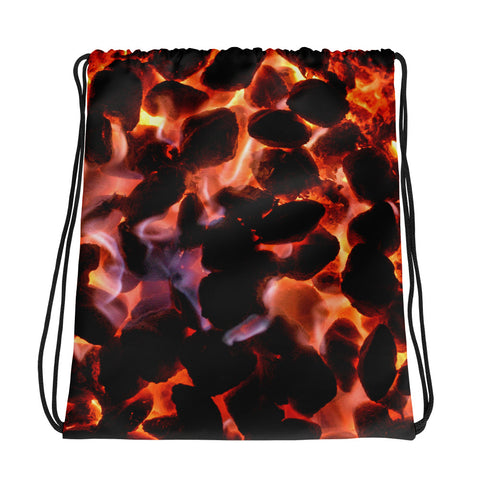 Glowing Embers Drawstring Bag - Aly Pictured It
