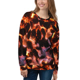 Glowing Embers Unisex Sweatshirt - Aly Pictured It