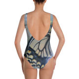 Yellow Butterfly One-Piece Swimsuit - Aly Pictured It