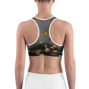 Crawling Spiders Sports Bra - Aly Pictured It