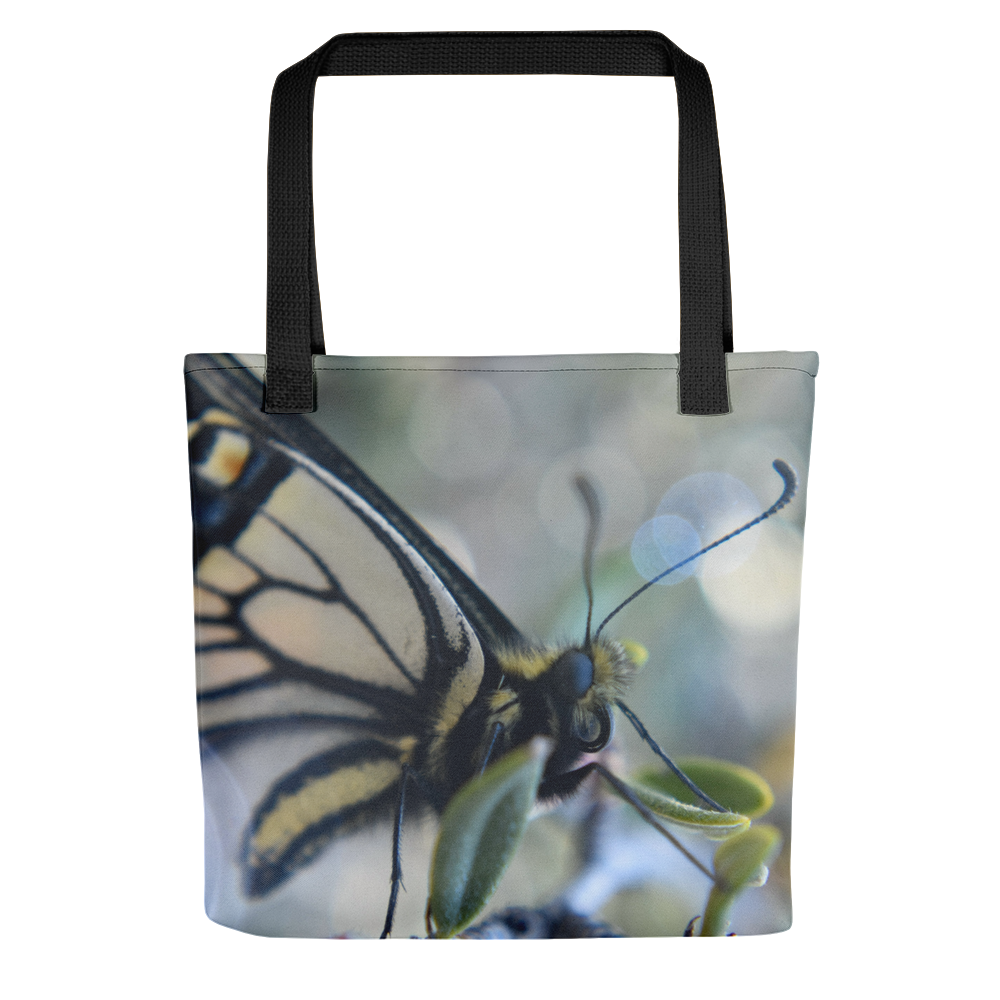 Yellow Butterfly Tote - Aly Pictured It