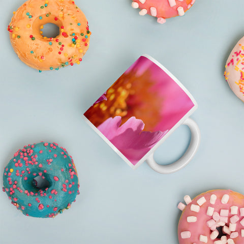 Pink Petals Mug - Aly Pictured It
