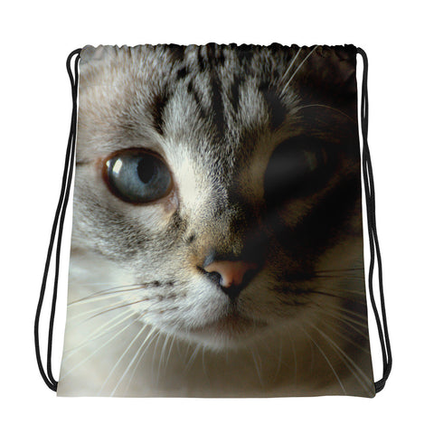 "John ""The Cat"" Stamos Drawstring Bag - Aly Pictured It"