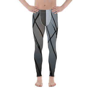 Broken Glass Men's Leggings - Aly Pictured It