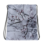 Snow Flower Drawstring Bag - Aly Pictured It