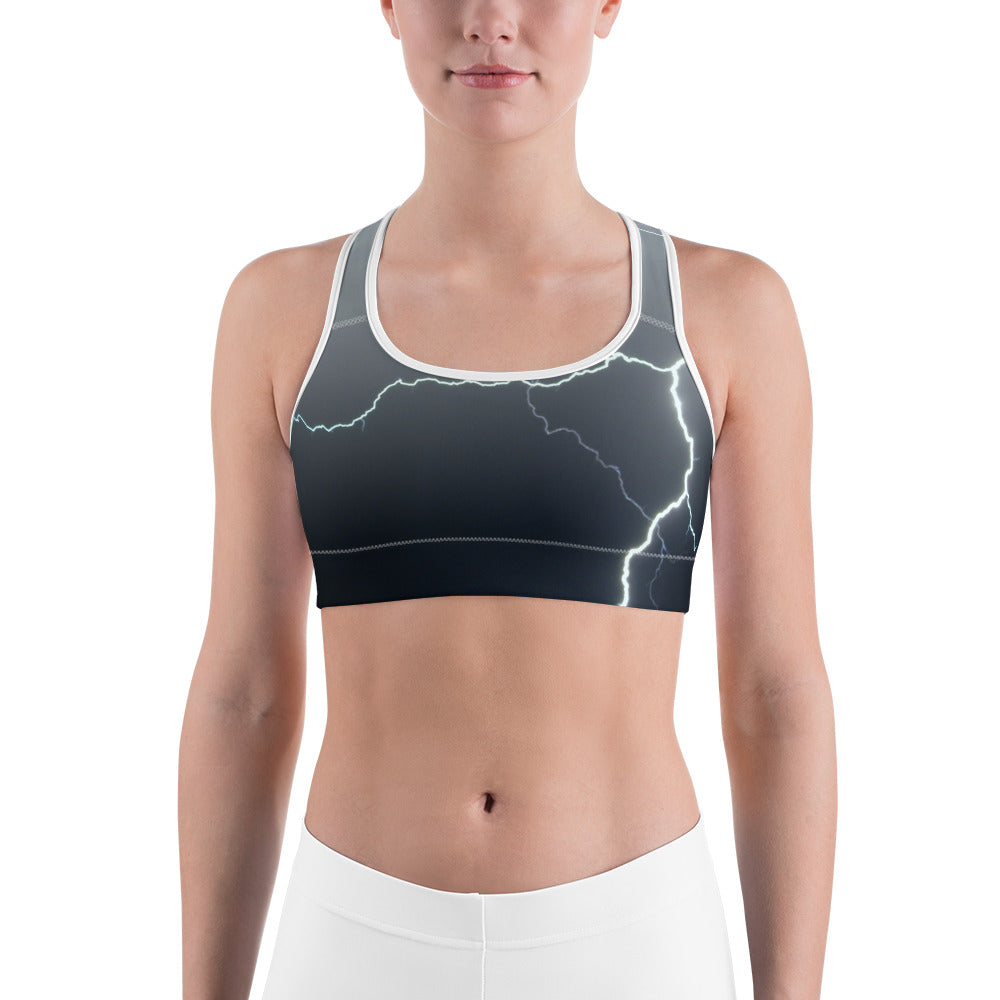 Lightning Sports Bra - Aly Pictured It