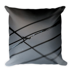 Broken Glass Square Pillow - Aly Pictured It