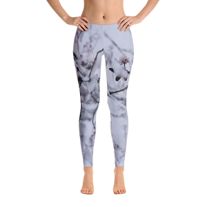 Snow Flower Leggings - Aly Pictured It