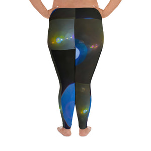 Lens Flare Plus Size Leggings - Aly Pictured It