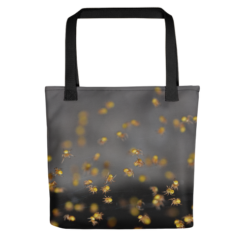 Crawling Spiders Tote - Aly Pictured It