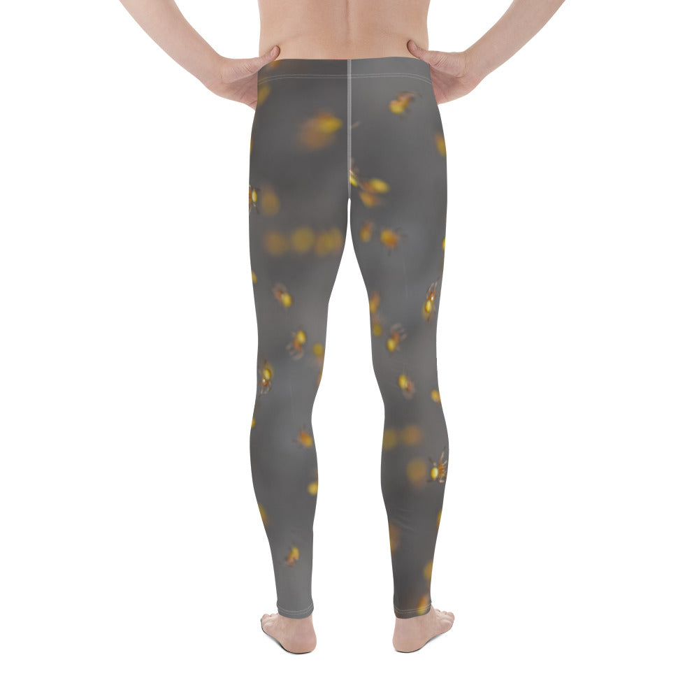 Crawling Spiders Men's Leggings - Aly Pictured It