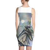 Yellow Butterfly Dress - Aly Pictured It