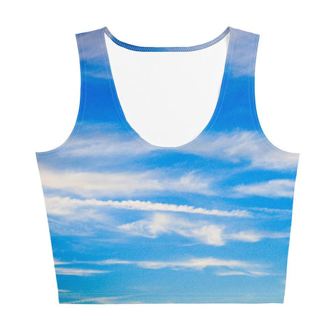 Sky Crop Top - Aly Pictured It