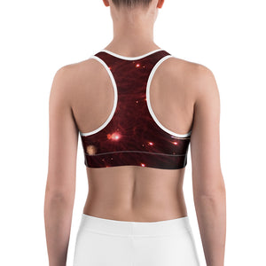 Fireworks Sports Bra - Aly Pictured It