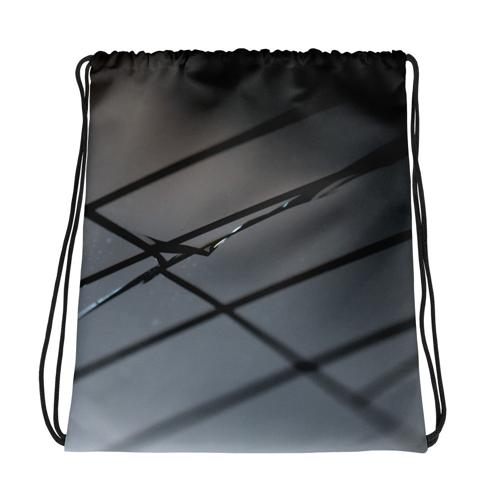 Broken Glass Drawstring Bag - Aly Pictured It