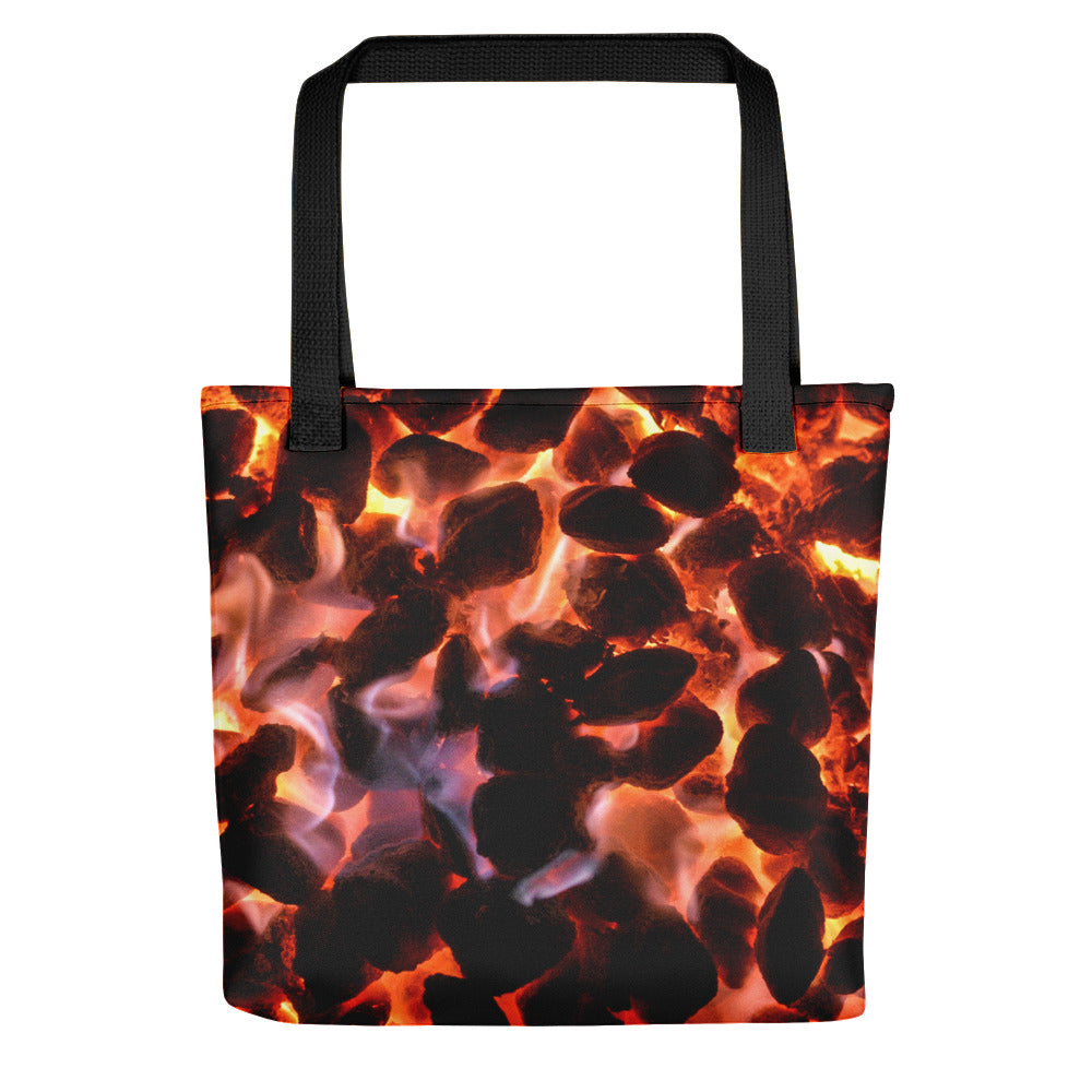 Glowing Embers Tote - Aly Pictured It