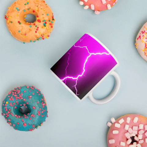 Pink Lightning Mug - Aly Pictured It
