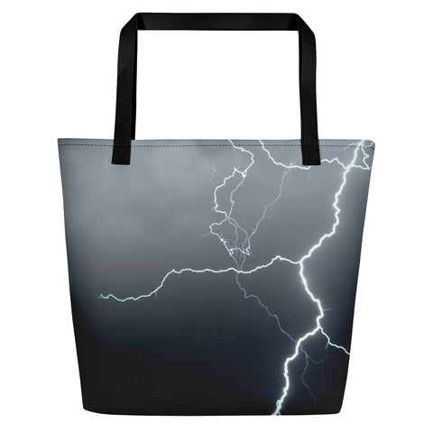 Lightning Beach Bag - Aly Pictured It