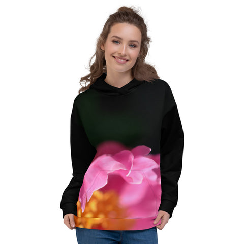 Pink Petals Unisex Hoodie - Aly Pictured It