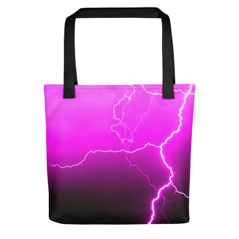 Pink Lightning Tote - Aly Pictured It