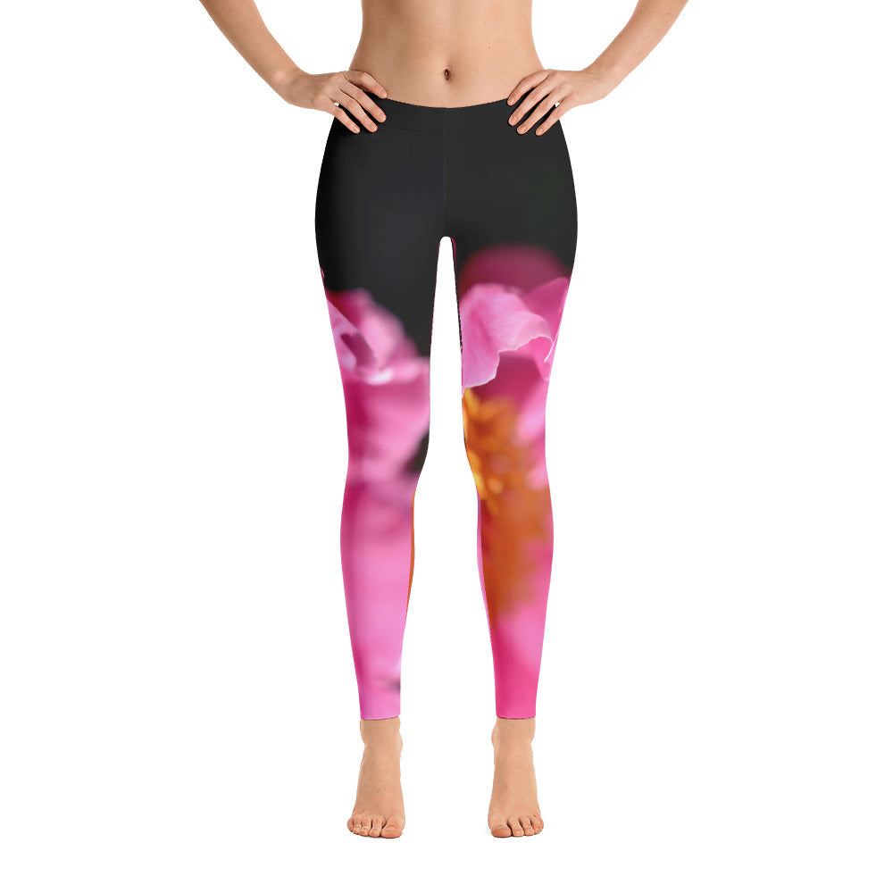 Pink Petals Leggings - Aly Pictured It