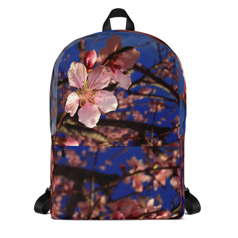Spring Blossoms Laptop Backpack - Aly Pictured It