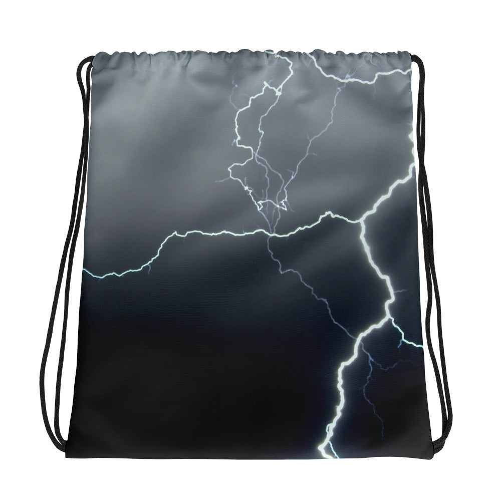 Lightning Drawstring Bag - Aly Pictured It