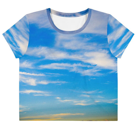Sky Crop Tee - Aly Pictured It