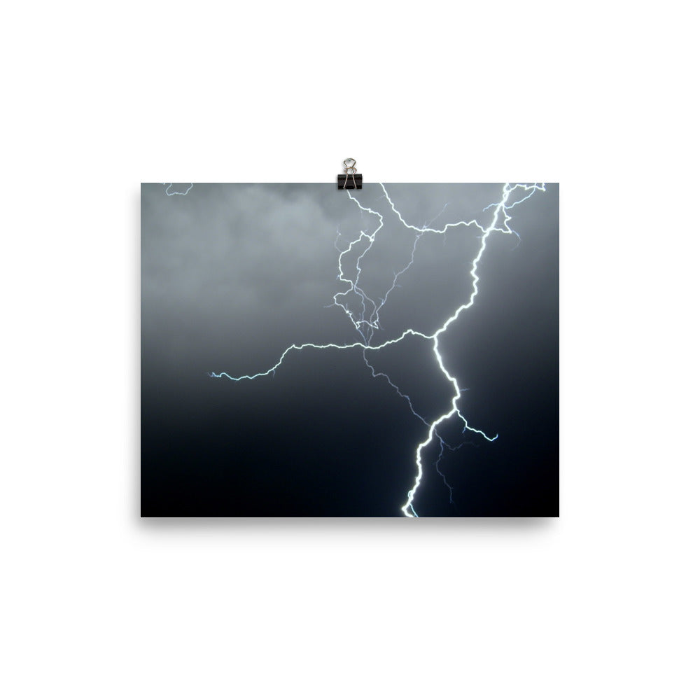 Lightning Poster - Aly Pictured It