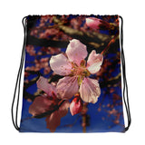 Spring Blossom Drawstring Bag - Aly Pictured It