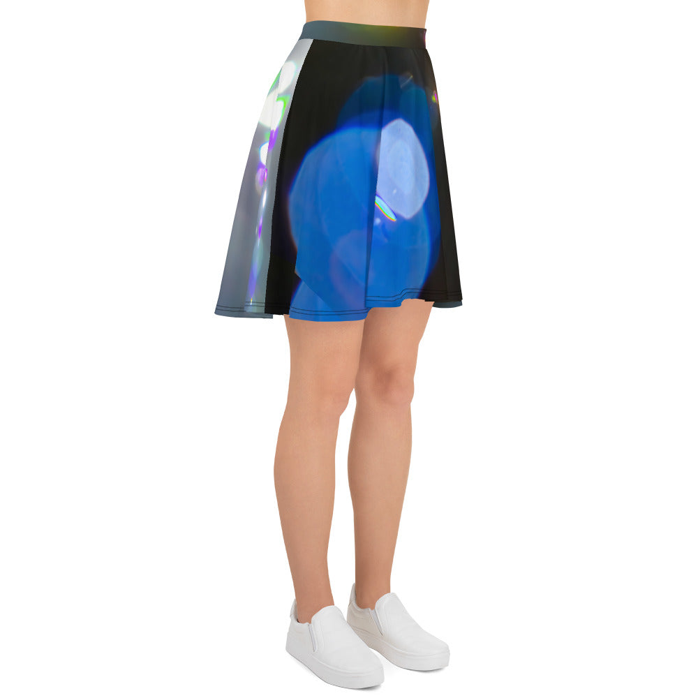 Lens Flare Skater Skirt - Aly Pictured It