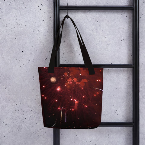 Fireworks Tote - Aly Pictured It