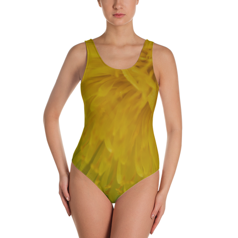Dandelion One-Piece Swimsuit - Aly Pictured It