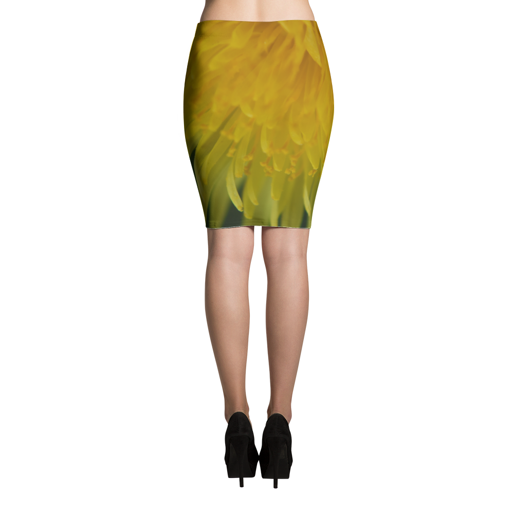 Dandelion Pencil Skirt - Aly Pictured It