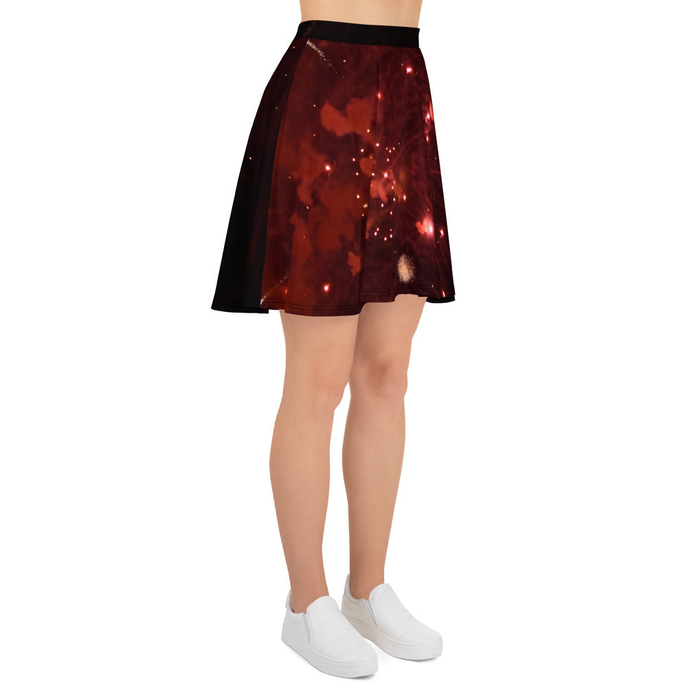Fireworks Skater Skirt - Aly Pictured It