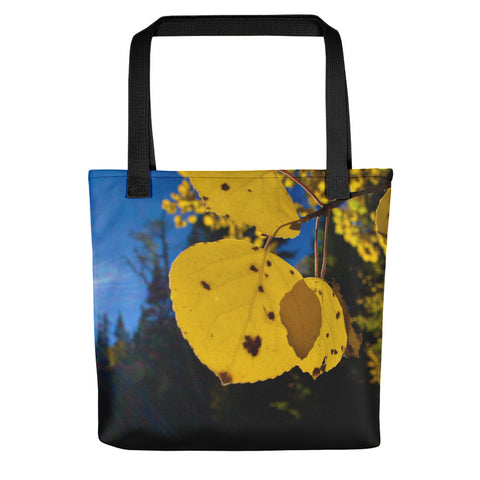Fall Leaf Tote - Aly Pictured It