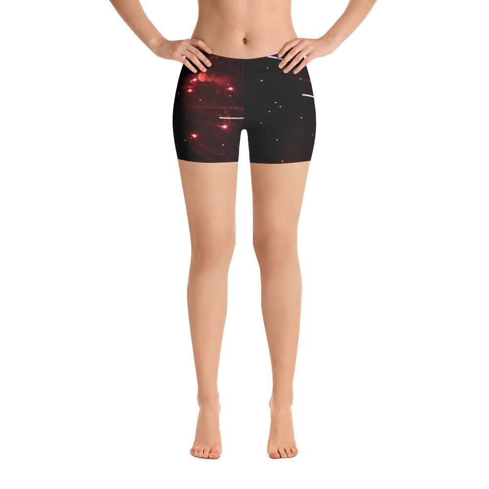 Fireworks Shorts - Aly Pictured It