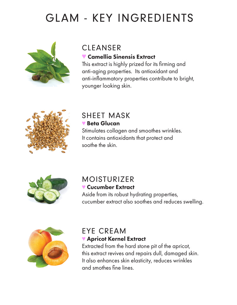 Glam 4-Step Facial