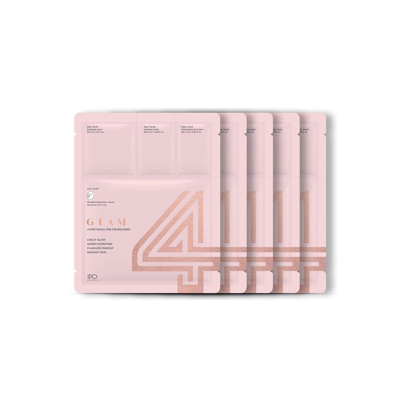 4Glam Sheet Mask - 5 Pouches