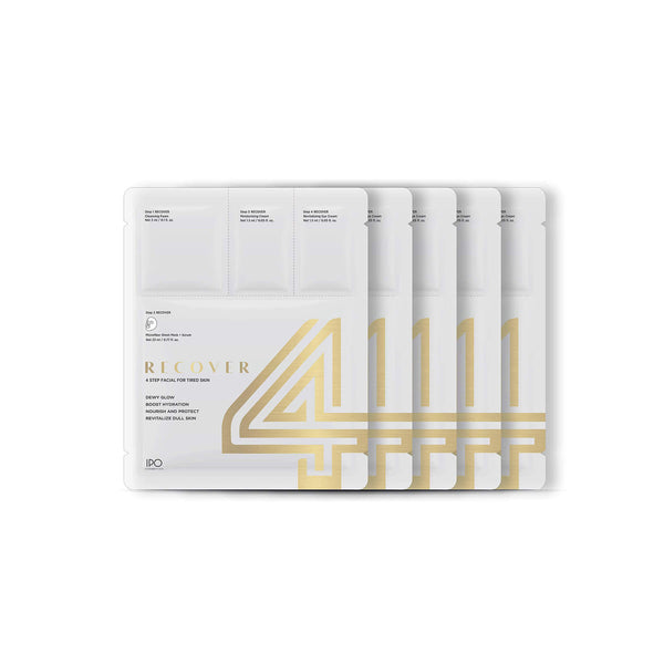 4Recover Sheet Mask - 5 Pouches