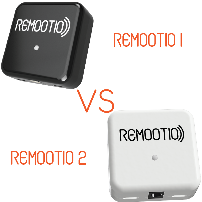 What are the differences between Remootio 1 and Remootio 2?