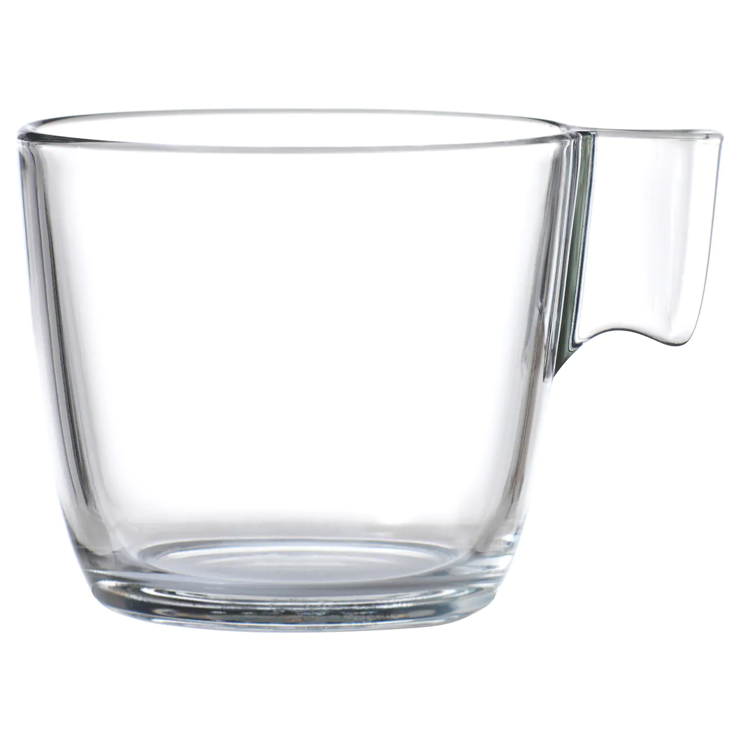 STELNA Mug, clear glass