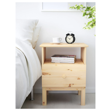 Load image into Gallery viewer, TARVA Bedside table solid pine