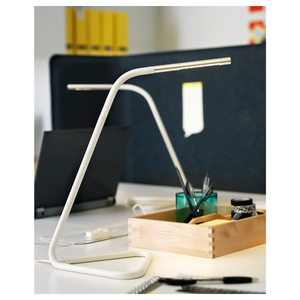 HÅRTE Desk lamp, white