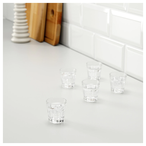 POKAL Snaps glass, 5cl -pack of 6